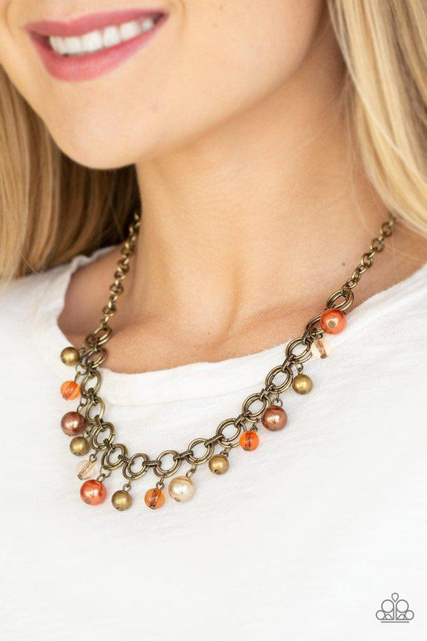 Paparazzi Necklace ~ Fiercely Fancy - Multi - Glitzygals5dollarbling Paparazzi Boutique