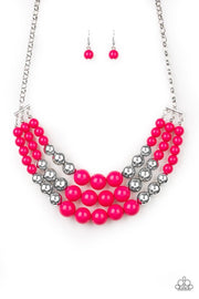 Paparazzi Dream Pop Pink Necklace - Glitzygals5dollarbling Paparazzi Boutique