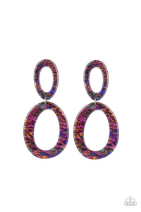 Paparazzi Hey HAUTE Rod Acrylic Earrings