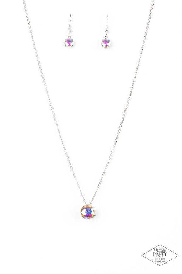Paparazzi What A Gem - Multi Gem Exclusive Necklace - Glitzygals5dollarbling Paparazzi Boutique