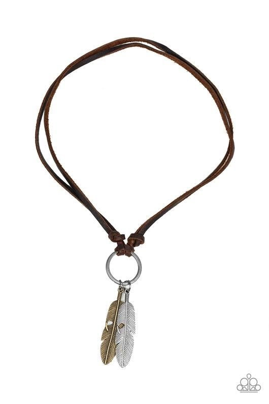 Paparazzi Accessories - Sky Walker - Brown Necklace