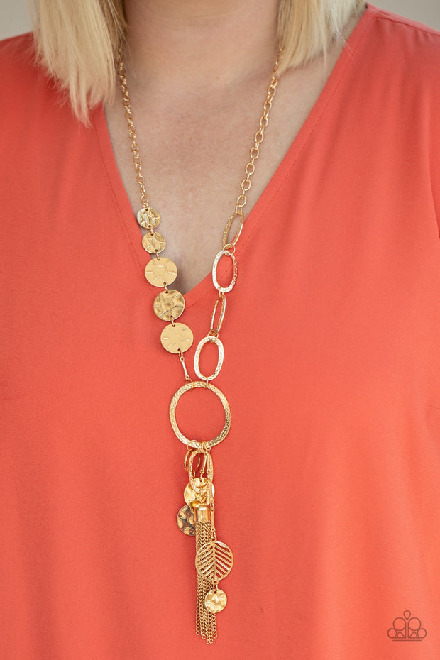Paparazzi Trinket Trend Gold Necklace - Glitzygals5dollarbling Paparazzi Boutique