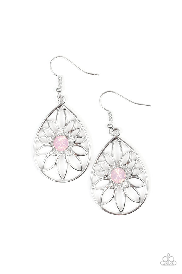 "Paparazzi ""Take It Glow"" Pink Earrings - Glitzygals5dollarbling Paparazzi Boutique"