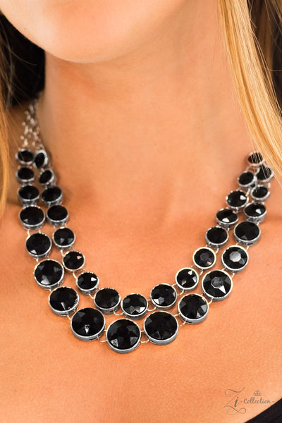 Paparazzi Retired Iconic - Zi Collection - Necklace and matching Earrings - Glitzygals5dollarbling Paparazzi Boutique