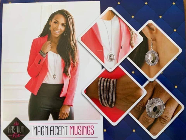 Paparazzi Magnificent Musings Complete Trend Blend Set Fashion Fix Exclusive September 2019 - Glitzygals5dollarbling Paparazzi Boutique