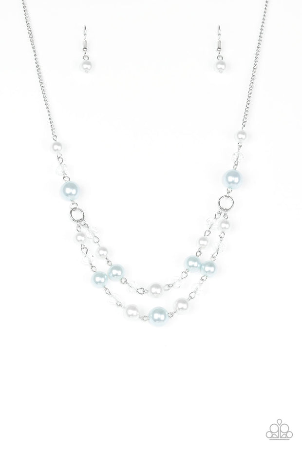 Paparazzi The Princess BRIDESMAID Blue Necklace - Glitzygals5dollarbling Paparazzi Boutique