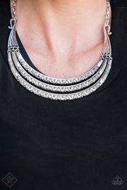 Primal Princess Silver Necklace - Glitzygals5dollarbling Paparazzi Boutique