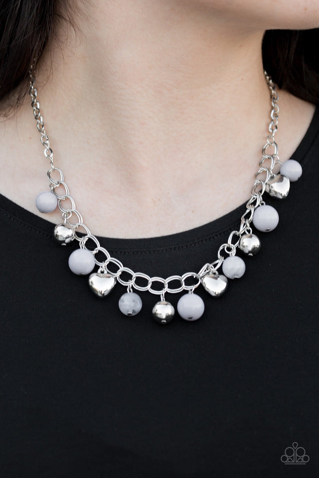 Paparazzi Summer Fling Silver Necklace - Glitzygals5dollarbling Paparazzi Boutique