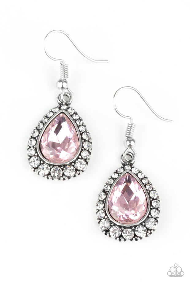 Paparazzi Ready, Set, GLOW! - Pink Earrings - Glitzygals5dollarbling Paparazzi Boutique