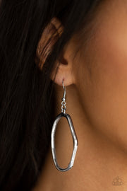 Paparazzi Eco Chic Silver Earrings