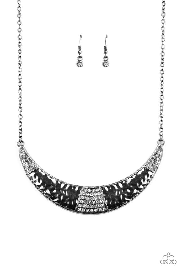Paparazzi Stardust Black Necklace