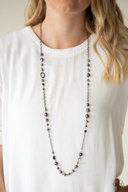 Paparazzi Necklace ~ Make An Appearance - Black - Glitzygals5dollarbling Paparazzi Boutique