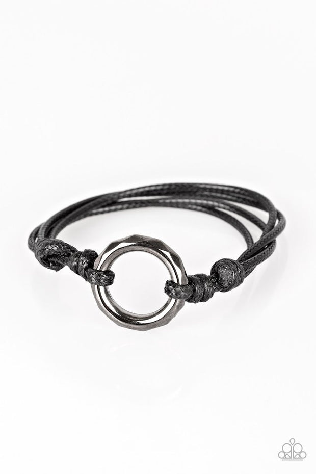 Paparazzi Urban Outsider Black Urban Bracelet