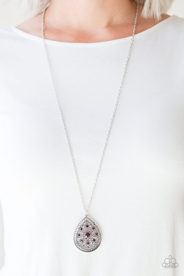 Paparazzi I Am Queen Purple Necklace - Glitzygals5dollarbling Paparazzi Boutique