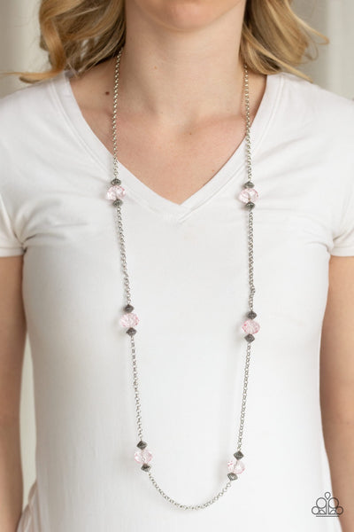 Paparazzi Season of Sparkle Pink Necklace - Glitzygals5dollarbling Paparazzi Boutique