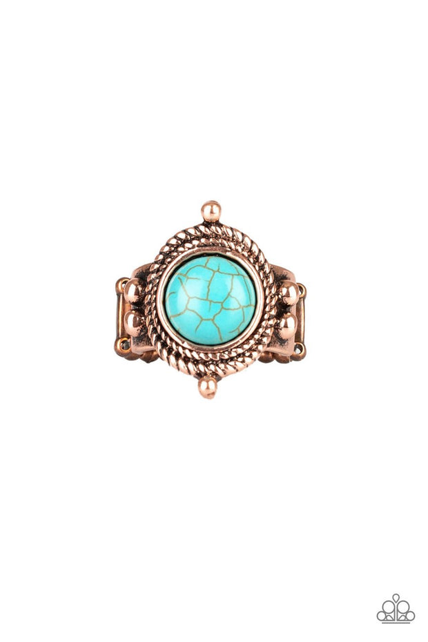 Paparazzi Prone To Wander - Copper - Ring - Glitzygals5dollarbling Paparazzi Boutique