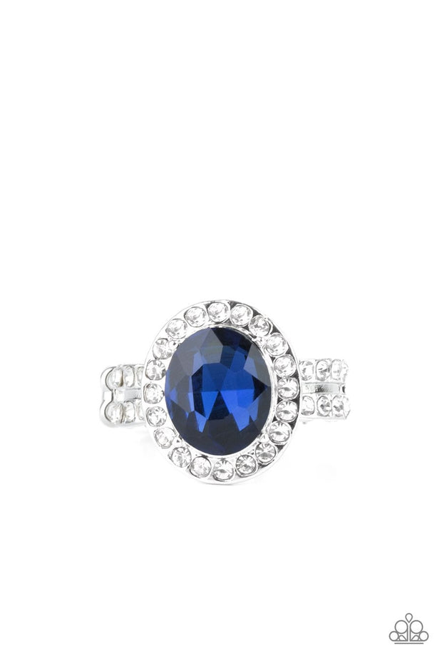 Unstoppable Sparkle - blue - Paparazzi ring - Glitzygals5dollarbling Paparazzi Boutique