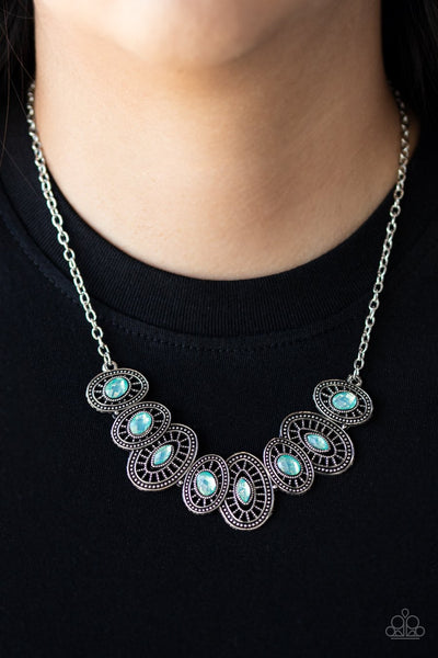 Paparazzi Trinket Trove Green Necklace - Glitzygals5dollarbling Paparazzi Boutique
