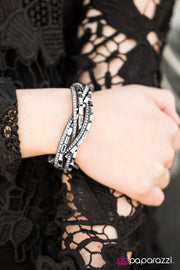 Paparazzi Too Cool For School Silver Urban Bracelet - Glitzygals5dollarbling Paparazzi Boutique