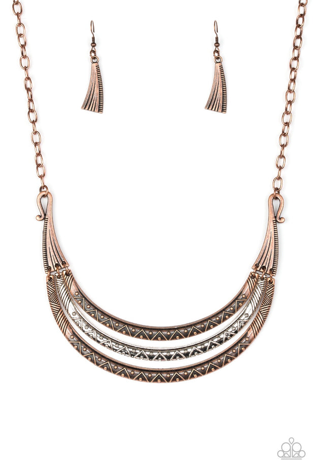 Paparazzi Primal Princess - Multi Necklace - Glitzygals5dollarbling Paparazzi Boutique