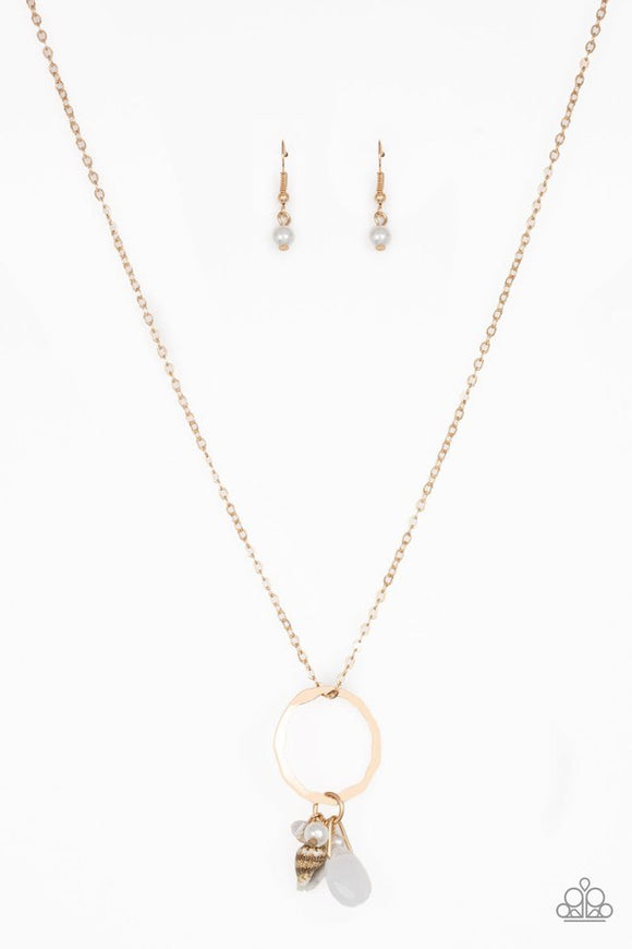 Paparazzi Coastal Couture Gold Necklace
