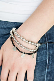 Seafaring Adventure Silver Bracelet - Glitzygals5dollarbling Paparazzi Boutique