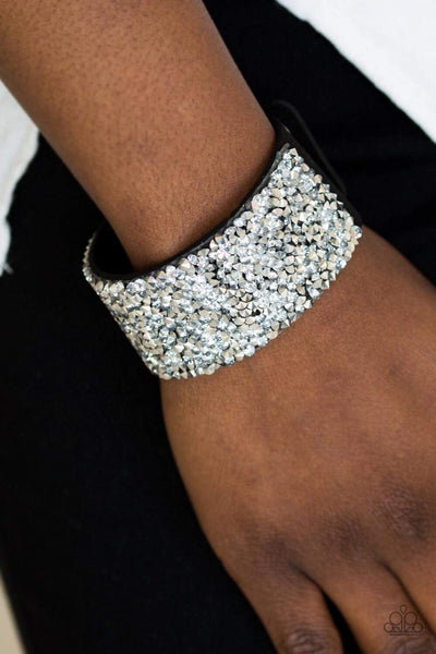 Paparazzi More Bang for Your Buck Black Bracelet - Glitzygals5dollarbling Paparazzi Boutique
