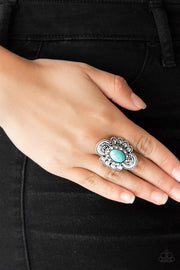 Paparazzi Basic Element Blue Ring - Glitzygals5dollarbling Paparazzi Boutique
