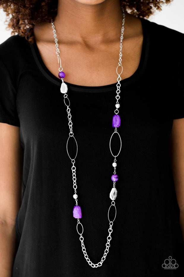 Paparazzi Popular Demand Purple Necklace - Glitzygals5dollarbling Paparazzi Boutique