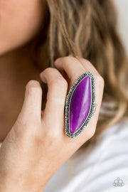 Mineral Mine - purple - Paparazzi ring Summer Party Pack Exclusive - Glitzygals5dollarbling Paparazzi Boutique