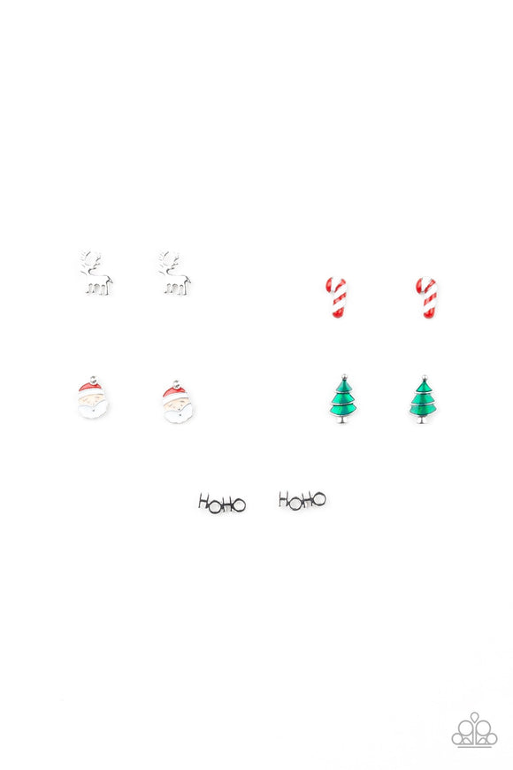 Paparazzi Christmas Earrings Starlet Shimmer - Set of 5!