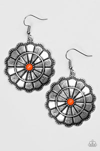 "Paparazzi ""I'm No Wallflower"" Orange Earrings"