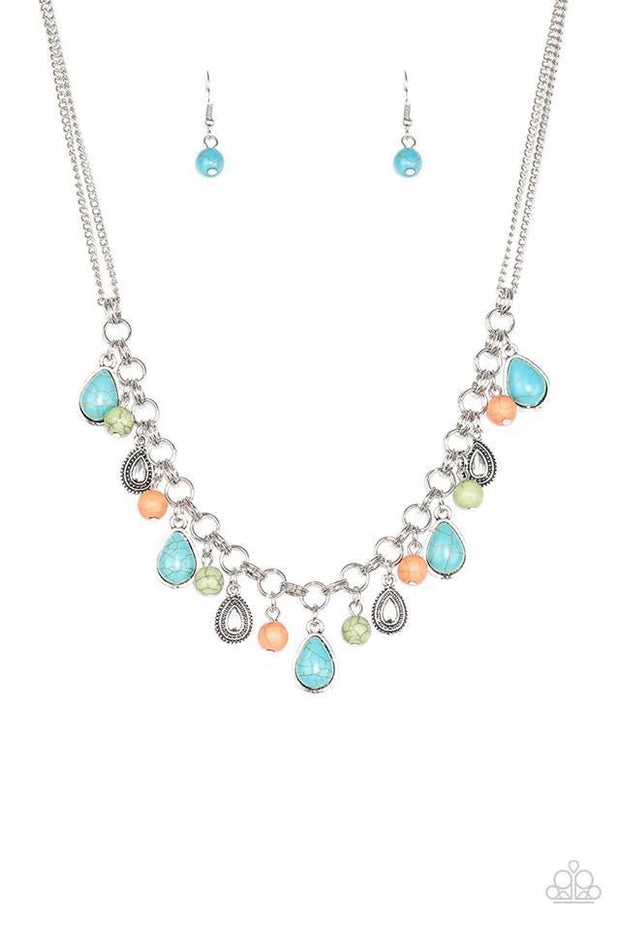 Welcome to Bedrock Multi Necklace - Glitzygals5dollarbling Paparazzi Boutique