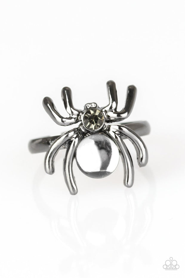 Paparazzi Starlet Shimmer Girls Kids Rings - 10 - Halloween Spiders - Glitzygals5dollarbling Paparazzi Boutique
