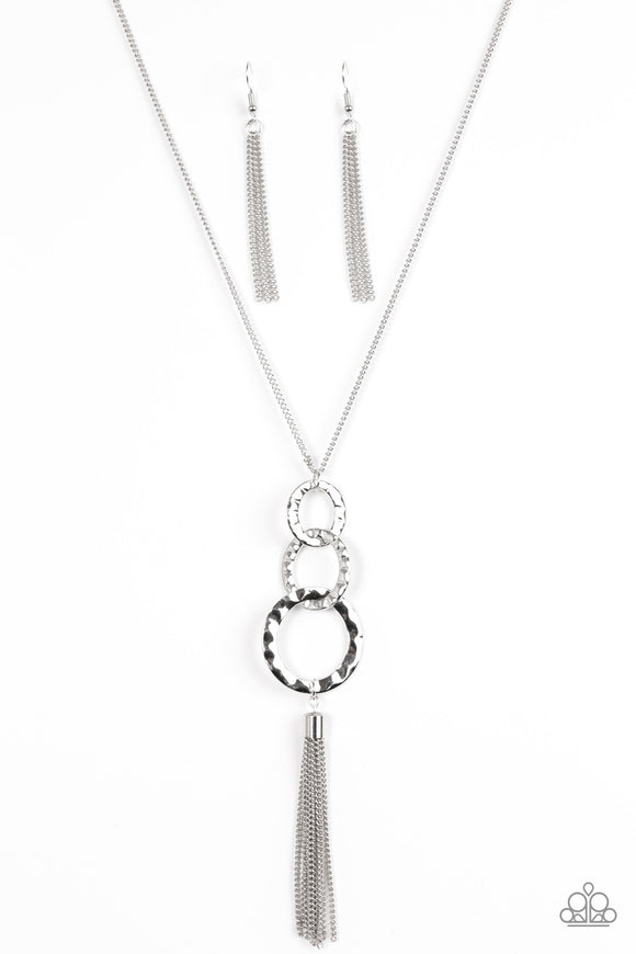 Paparazzi Don't BOLD Back! Silver Necklace