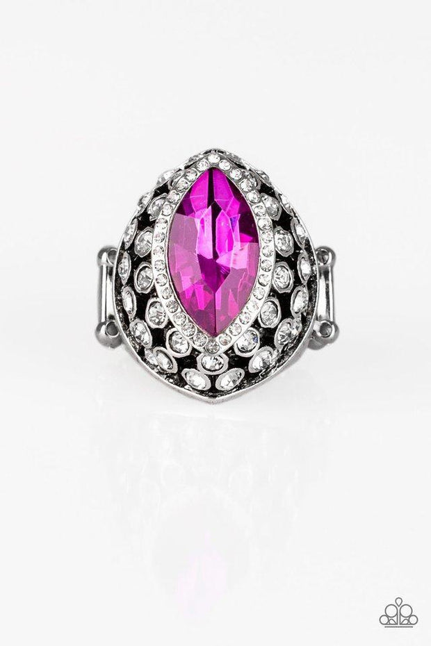 Paparazzi Royal Radiance Pink Ring - Glitzygals5dollarbling Paparazzi Boutique