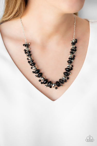 Paparazzi BRAGs To Riches Black Necklace - Glitzygals5dollarbling Paparazzi Boutique