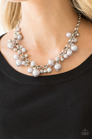 Paparazzi The Upstater Silver Necklace - Glitzygals5dollarbling Paparazzi Boutique