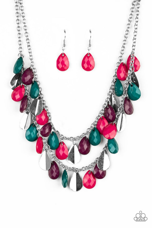 Paparazzi Life of the FIESTA Multi Necklace