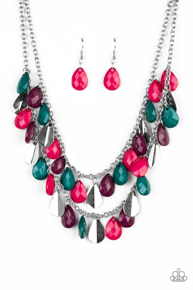 Paparazzi Life of the FIESTA Multi Necklace - Glitzygals5dollarbling Paparazzi Boutique