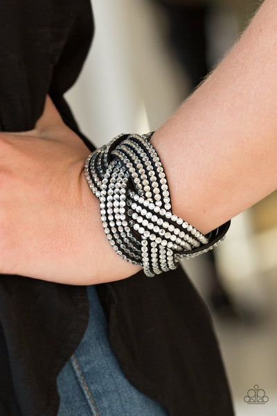 Paparazzi Top Class Chic Black Urban Bracelet - Glitzygals5dollarbling Paparazzi Boutique
