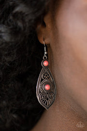 Paparazzi Sweetly Siren Pink Earrings - Glitzygals5dollarbling Paparazzi Boutique