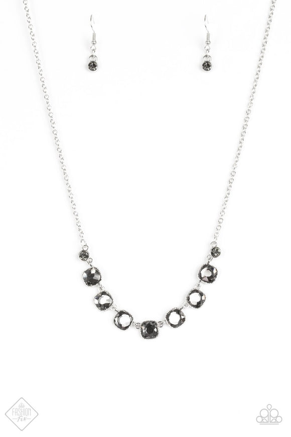 Deluxe Luxe Silver Necklace Fashion Fix Exclusive