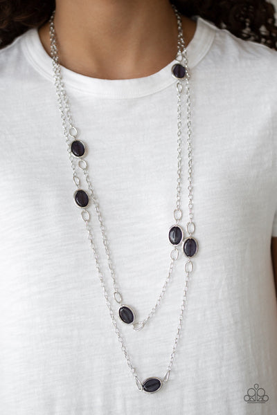 Paparazzi Back For More - Black Necklace - Glitzygals5dollarbling Paparazzi Boutique
