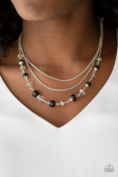 Paparazzi  Tour de Demure - Black Necklace - Glitzygals5dollarbling Paparazzi Boutique