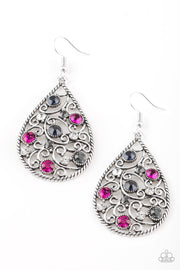Paparazzi Certainly Courtier Multi Earrings - Glitzygals5dollarbling Paparazzi Boutique