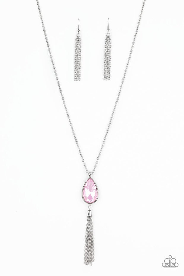 Elite Shine - pink - Paparazzi necklace - Glitzygals5dollarbling Paparazzi Boutique
