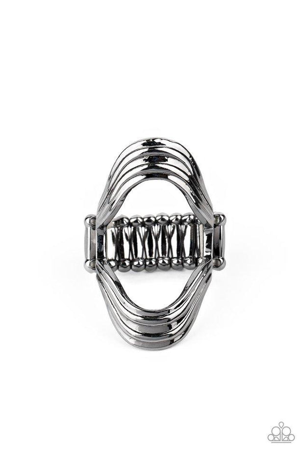Paparazzi Ring ~ Keep An Open Mind - Black