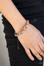 PREORDER WEAVE It Be - Multi Urban Bracelet