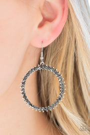 Paparazzi Spark Their Attention Silver Earrings - Glitzygals5dollarbling Paparazzi Boutique